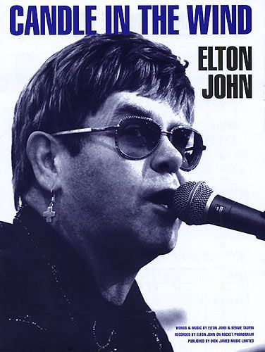 candle in the wind backing track in the style of elton